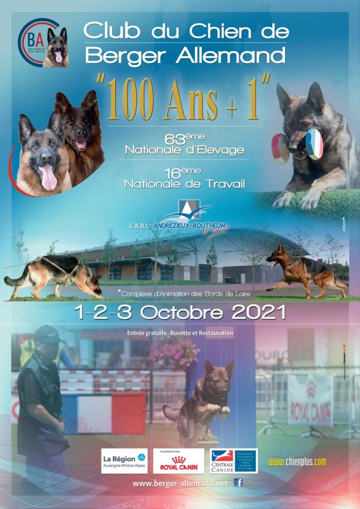 """Club du chien de berger allemand """"100 ans + 1"""""""